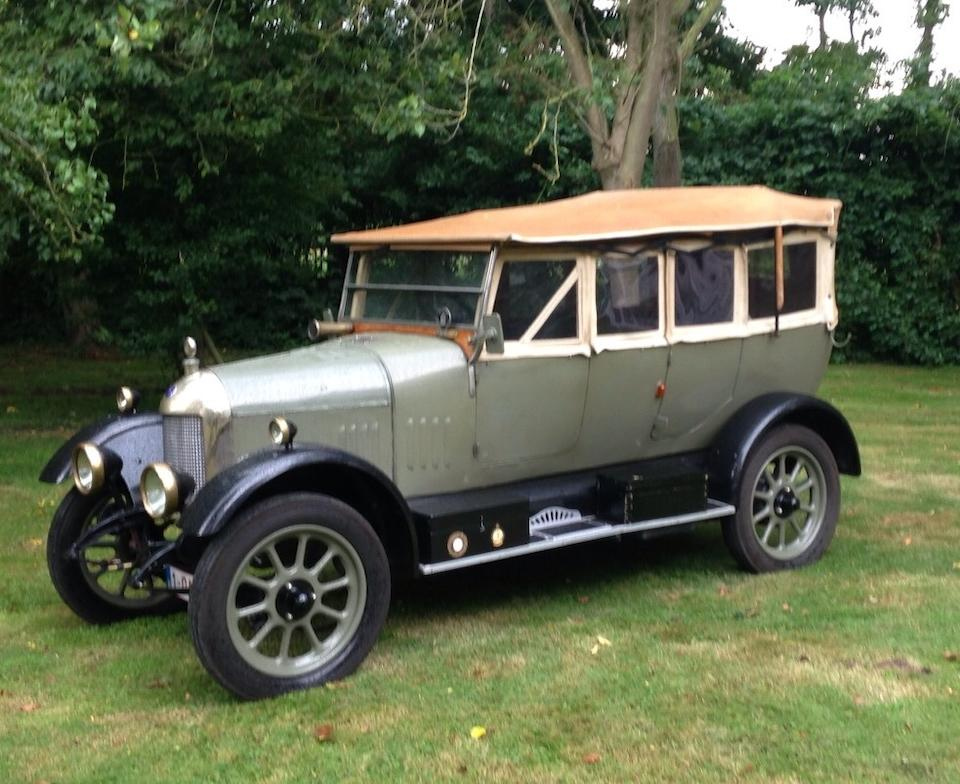 1924 Morris 11.9hp Cowley Tourer  Chassis no. 33558