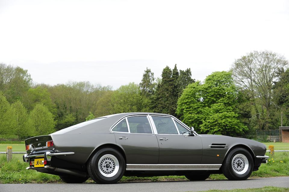 The London Motor Show,1974 Aston Martin Lagonda Series 1 7.0-Litre Saloon