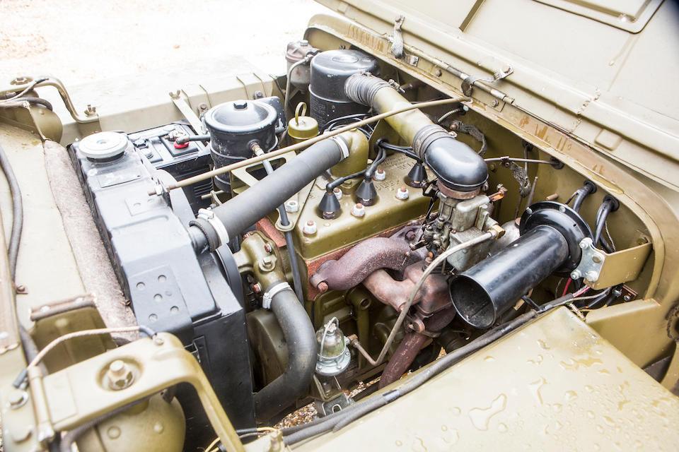 1942 Willys Jeep  Chassis no. 153355 Engine no. 2065303