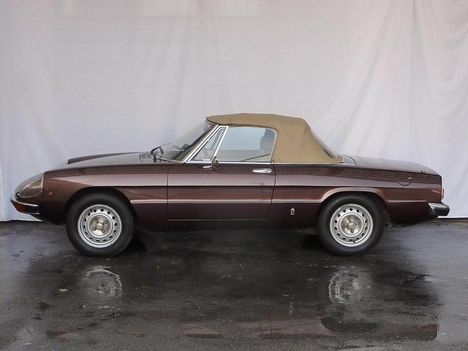 1980 Alfa Romeo Spider 1600 Junior  Chassis no. AR 11535.0004094 Engine no. AR 00526A