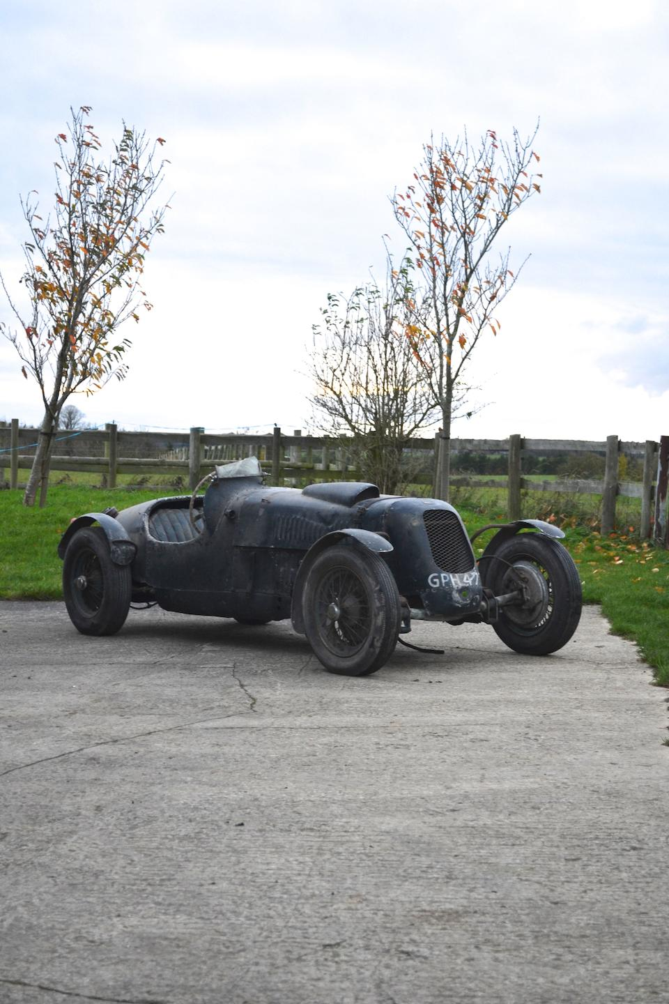 1938 HRG Le Mans Sports Project  Chassis no. W73