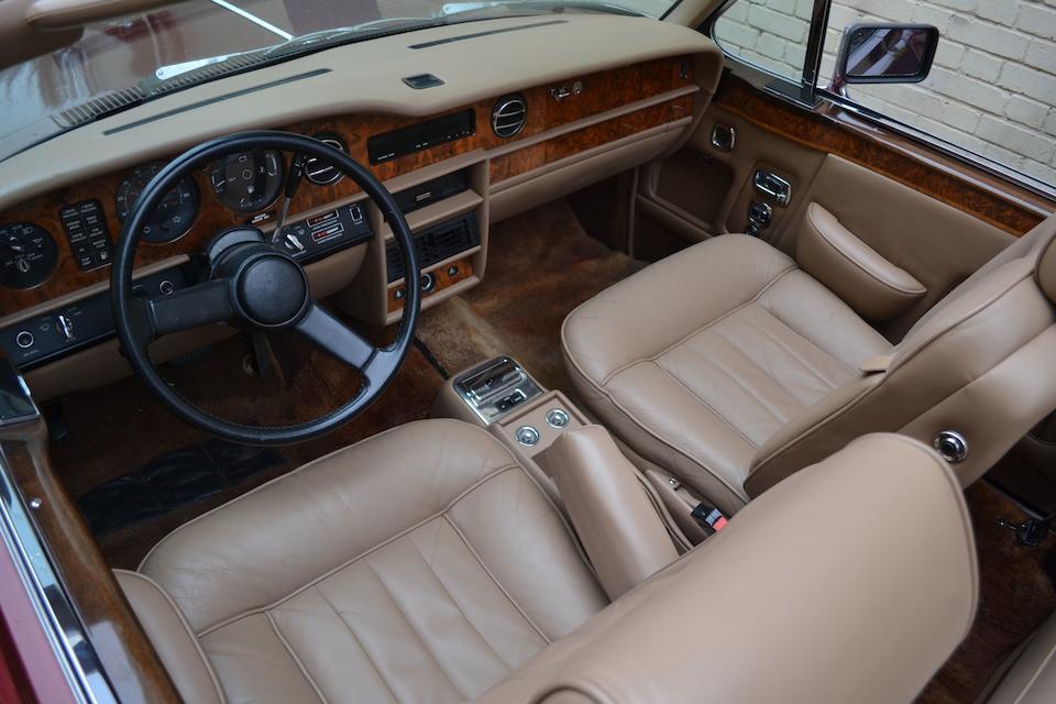1983 Rolls-Royce Corniche Convertible  Chassis no. SCAZD42A7DCX07052 Engine no. CZ36255