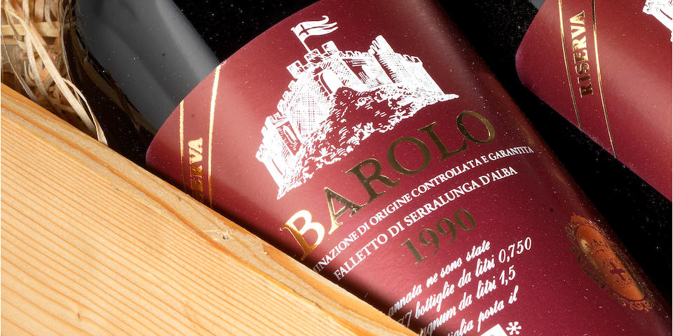Barolo Riserva, Falletto di Serralunga Red Label 1990, Bruno Giacosa (6)
