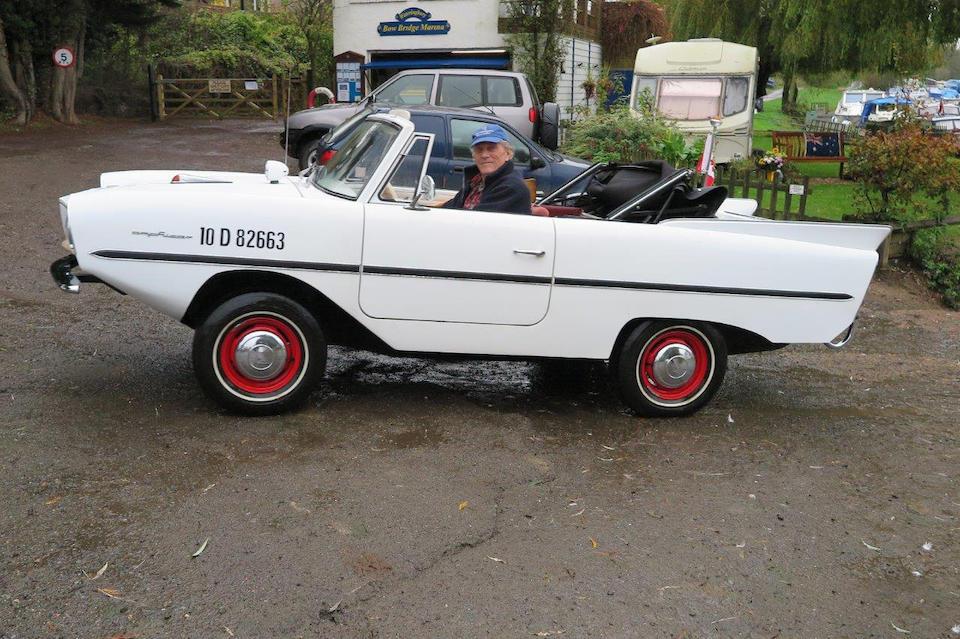 1962 Amphicar 770 Cabriolet  Chassis no. 103911022008 Engine no. GK659HE