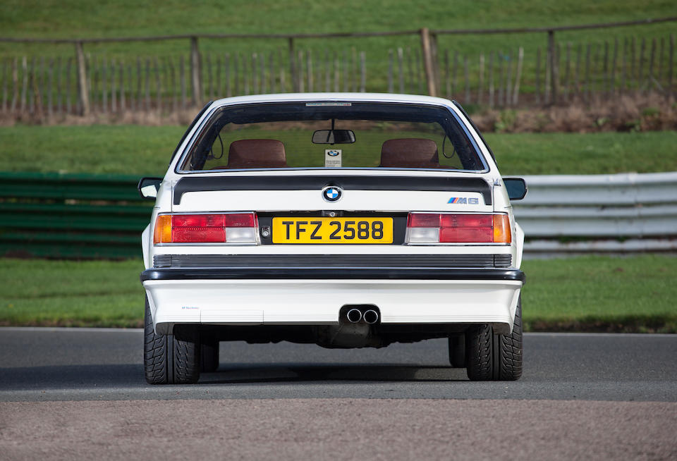 1985 BMW M635CSi Coupé  Chassis no. WBAEE320500760069 Engine no. 40743619