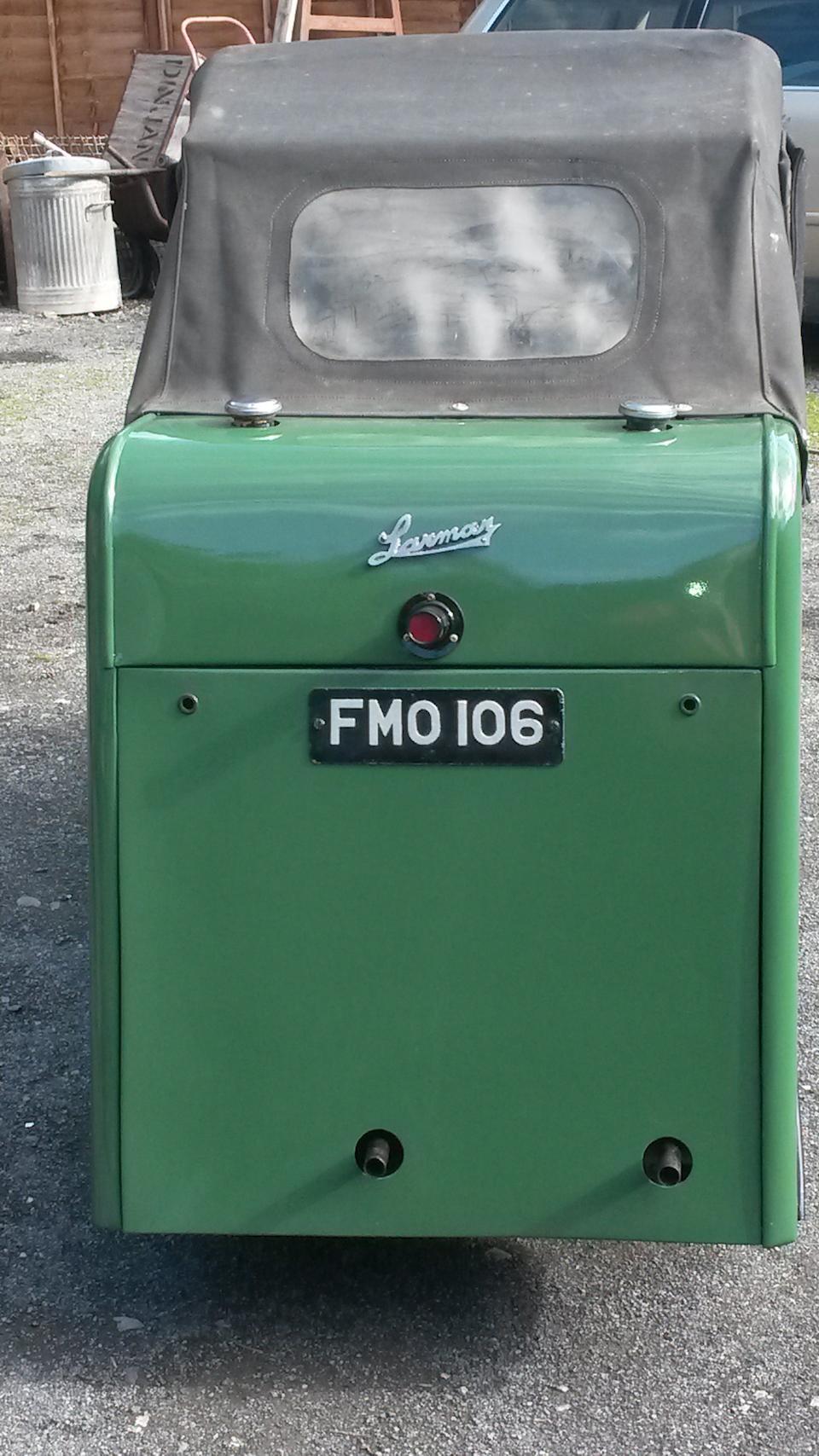 1949 Larmar Monocar  Chassis no. A2VJ39260 Engine no. ZC10 1976