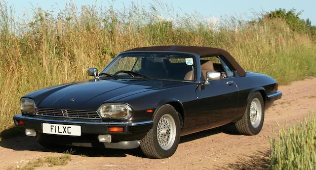 1988 Jaguar XJ-S V12 Convertible  Chassis no. SAJJNADW3DA147386 Engine no. 85056253HA