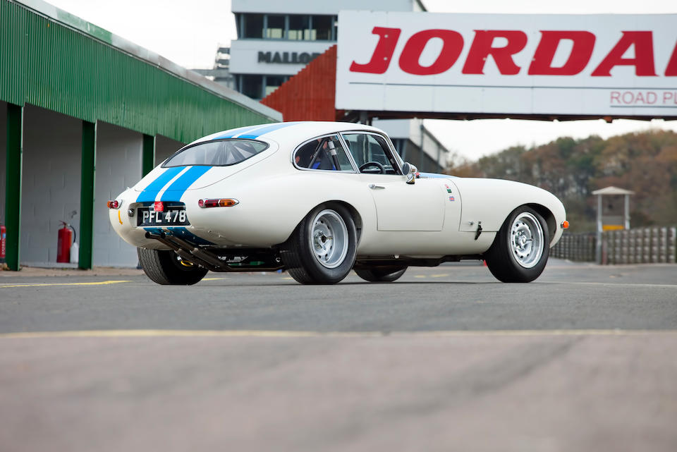 1962 Jaguar E-Type 'Series 1' 3.8-Litre Competition Coupé  Chassis no. 860657 Engine no. R6121-9