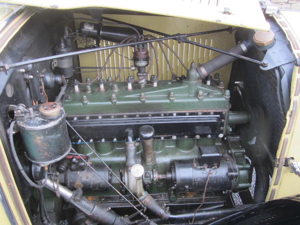 1929 Renault 15CV Vivasix Landaulette de Ville  Chassis no. 475583 Engine no. 974