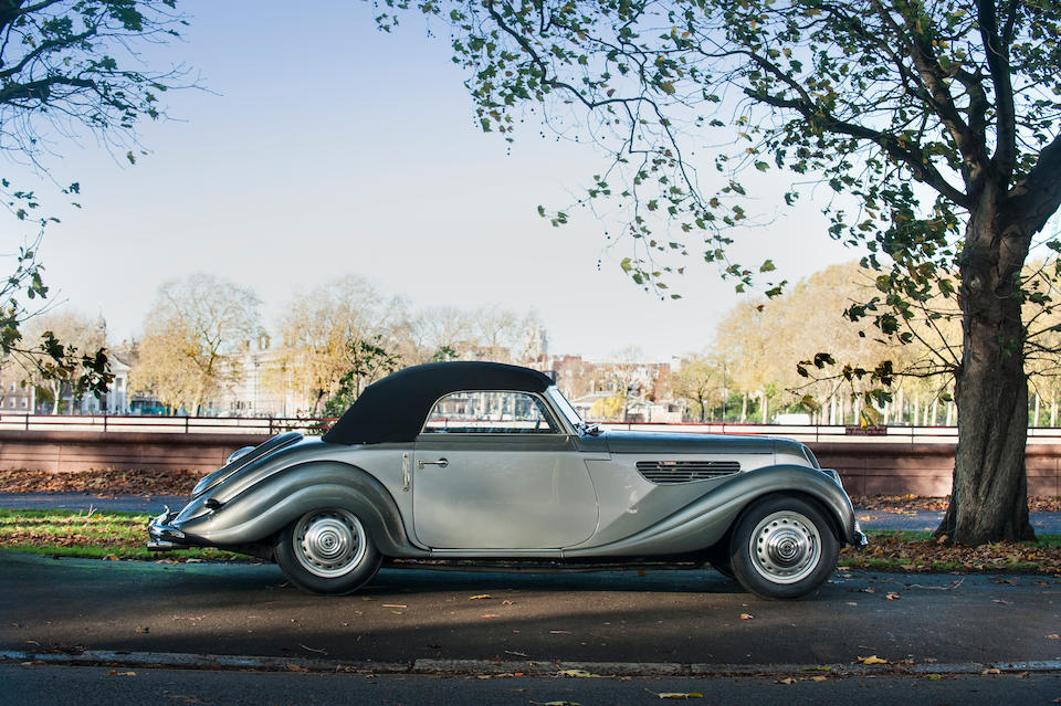 1953 EMW 327 Cabriolet  Chassis no. 87596