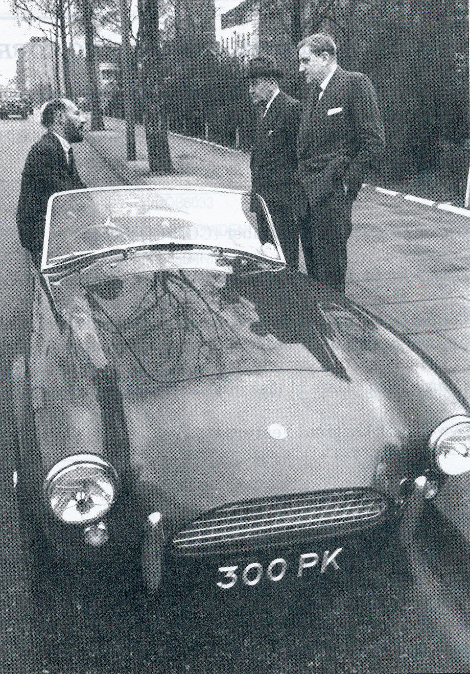 The first right-hand drive example,1962 AC Cobra Roadster