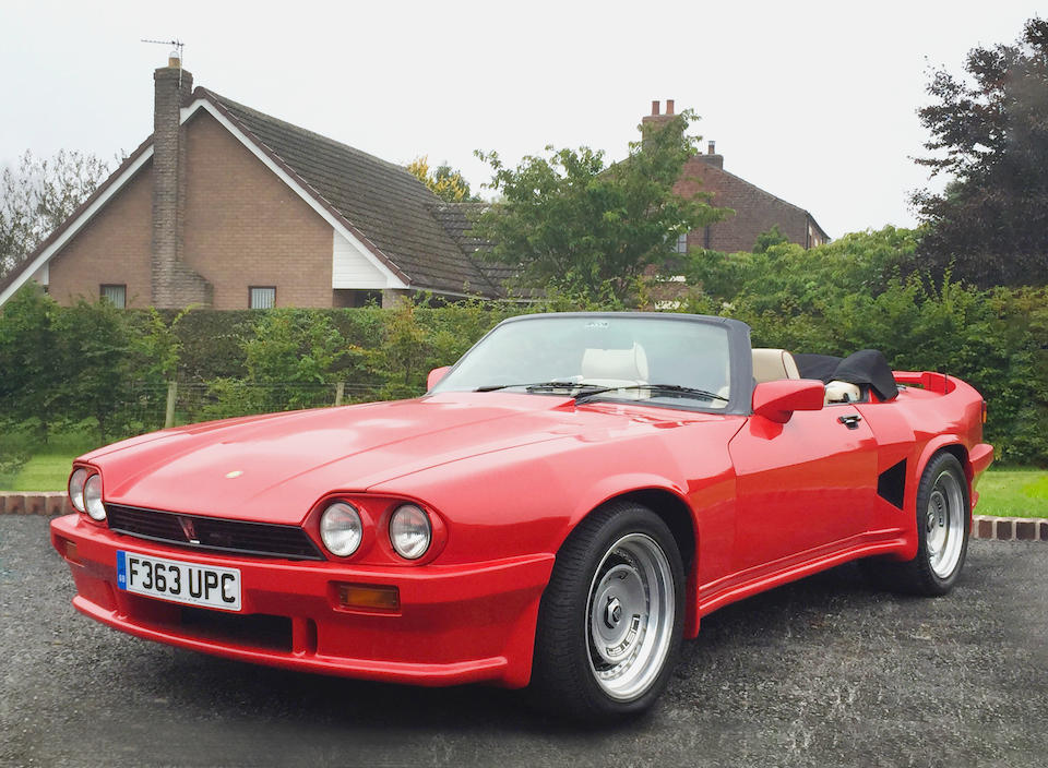 1989 Jaguar XJ-S 5.3-Litre V12 Lister Convertible  Chassis no. SAJJNADW3DA146261 Engine no. 85055036HA