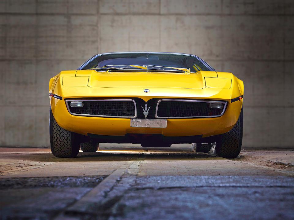 Maserati Bora 4.7 litres coupé 1973  Chassis no. AM117278 Engine no. AM117278