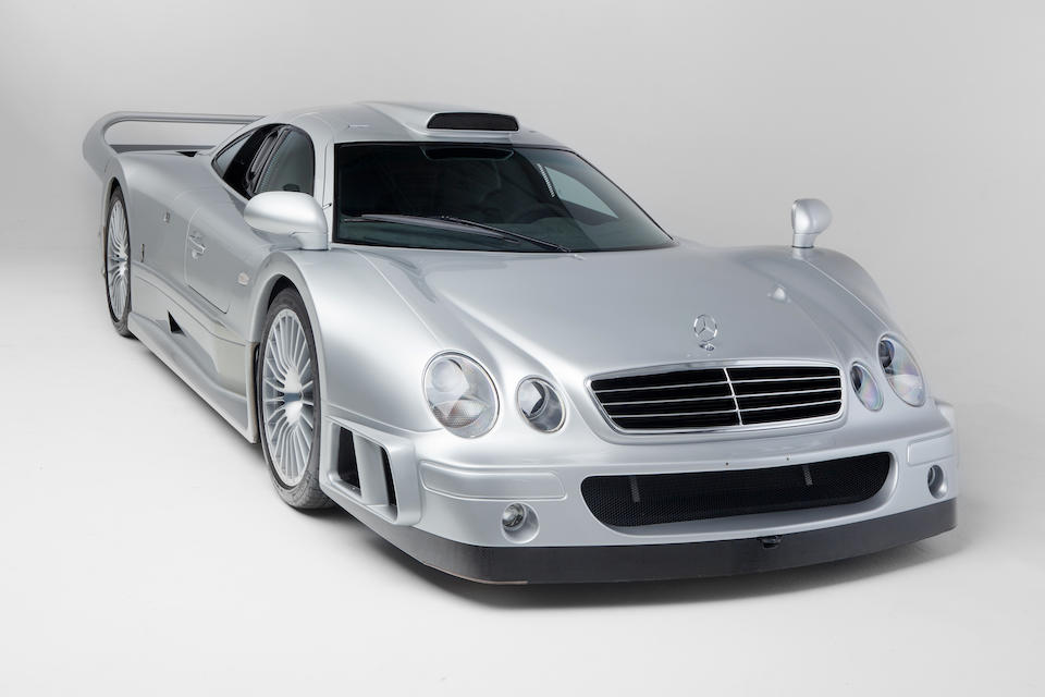 Mercedes-Benz CLK GTR coupé 2000