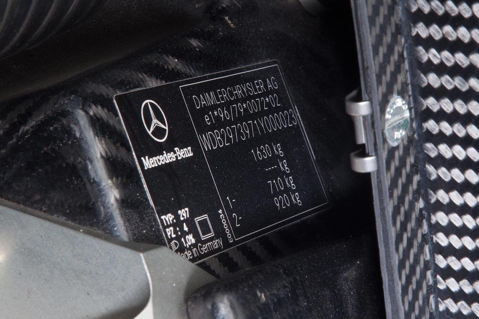 Mercedes-Benz CLK GTR coupé 2000