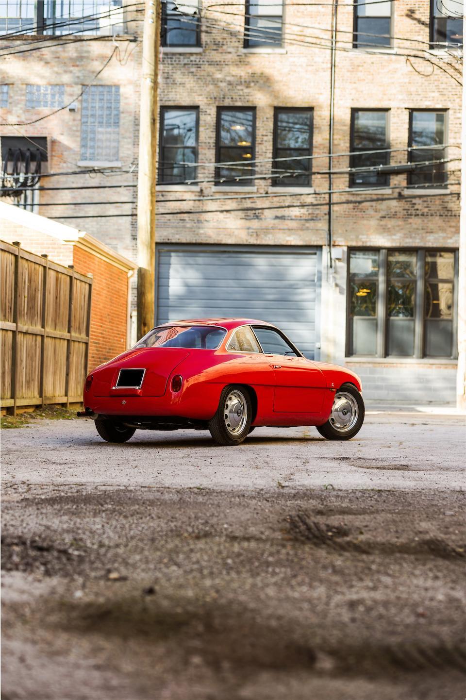 Historique de course extensive aux Etats-Unis,Alfa Romeo Giulietta SZ berlinette coda ronda 1961