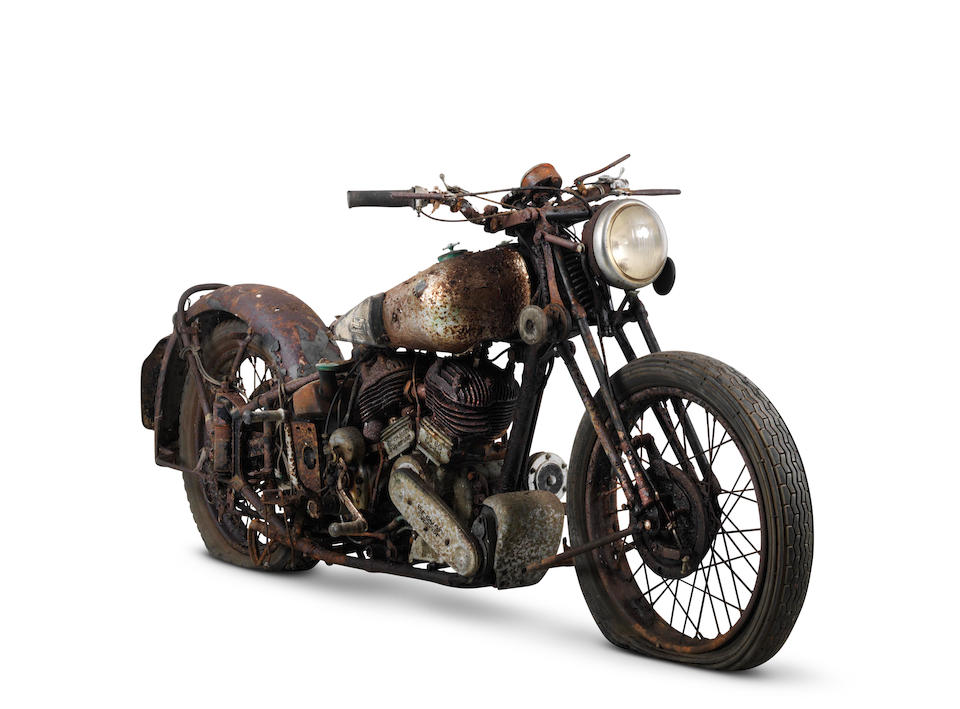 From the estate of the late Frank Vague,1938 Brough Superior 982cc SS80 Special Project Frame no. M8/2072 Engine no. BS/X 4752