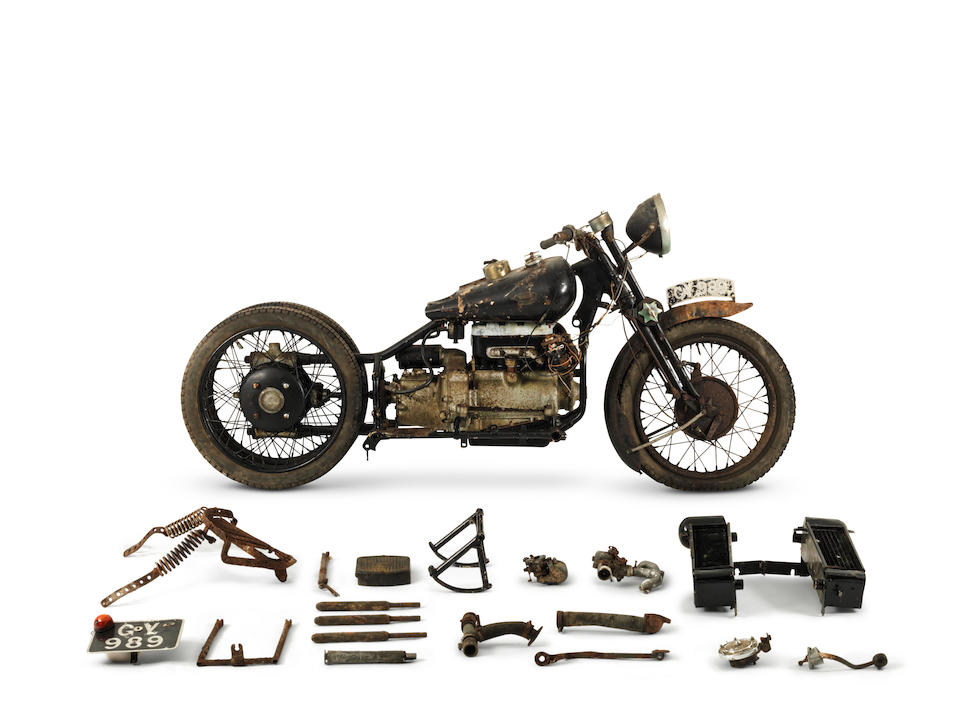 From the estate of the late Frank Vague, The ex-Hubert Chantrey,1932 Brough Superior 800cc Model BS4 Project Frame no. 4004 Engine no. M131039