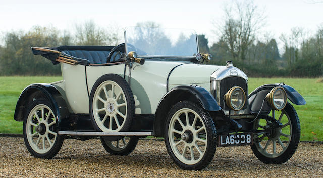 1919 Singer 10hp Tourer (see text)  Chassis no. C4413 Engine no. C4523