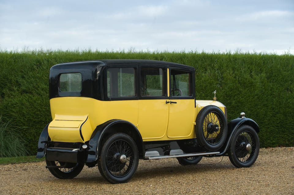 1924 La Buire Type 12A Saloon Project  Chassis no. 1604 Engine no. 1404