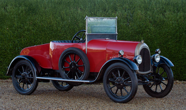 1920 Bean 11.9hp Tourer  Chassis no. to be advised Engine no. 26611
