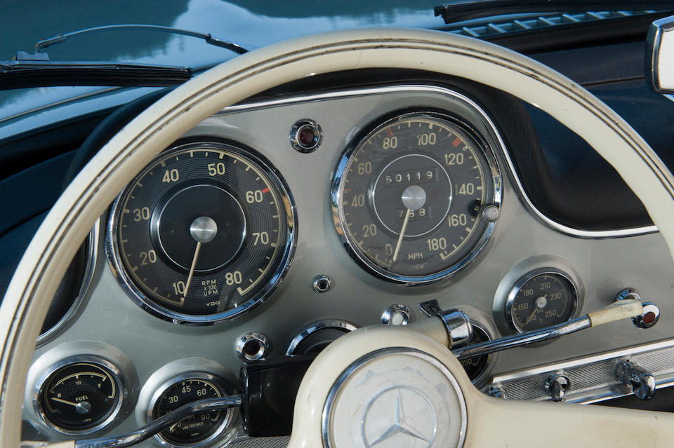 1955 Mercedes-Benz 300 SL 'Gullwing' Coupé  Chassis no. 198.040-55 00037 Engine no. 198.980-55 00189