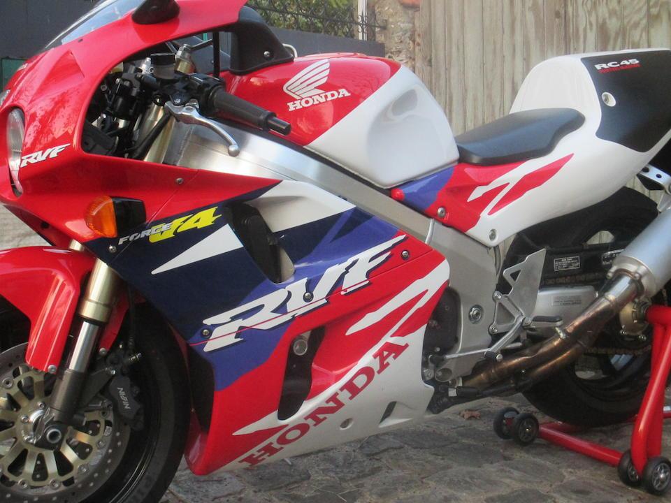 Honda RVF750 R Type RC45 1996  Frame no. RC45 2000511 Engine no. 2000511