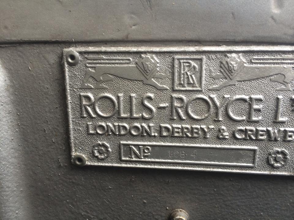 Rolls Royce Silver Cloud II châssis long, berline avec séparation chauffeur 1960