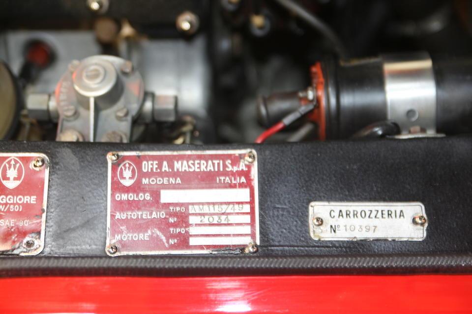 Maserati Ghibli 4.9 litres SS coupé 1970