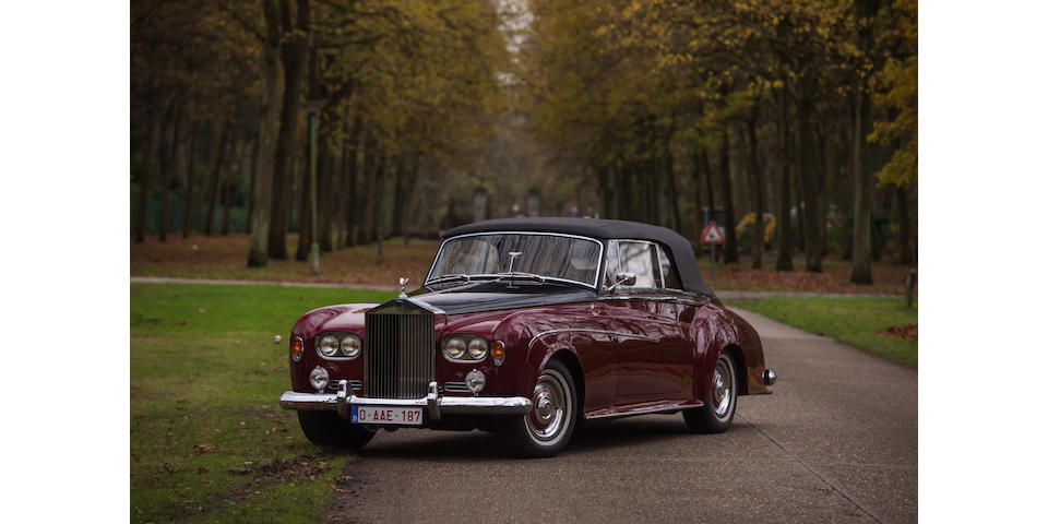 Rolls Royce Silver Cloud III cabriolet 1964