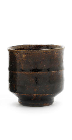 A Stoneware Teacup by Shoji Hamada CIRCA 1952