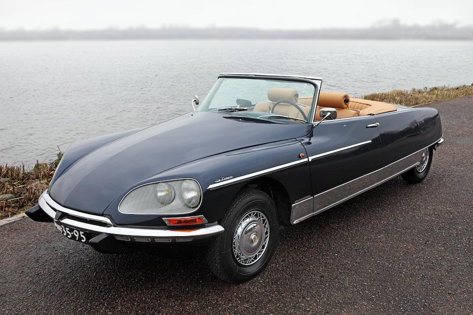 Ex salon de Paris 1967,Citroën DS21 cabriolet Le Caddy 1967