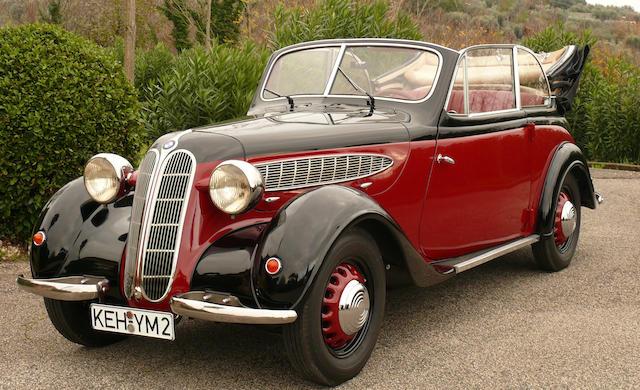 Bonhams : BMW 320 Cabriolet 1938