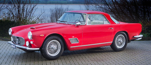 Autrefois propriété d'Alfredo Brener et de J. Geils du J. Geils Band,Maserati 3500 GTi coupé 1963