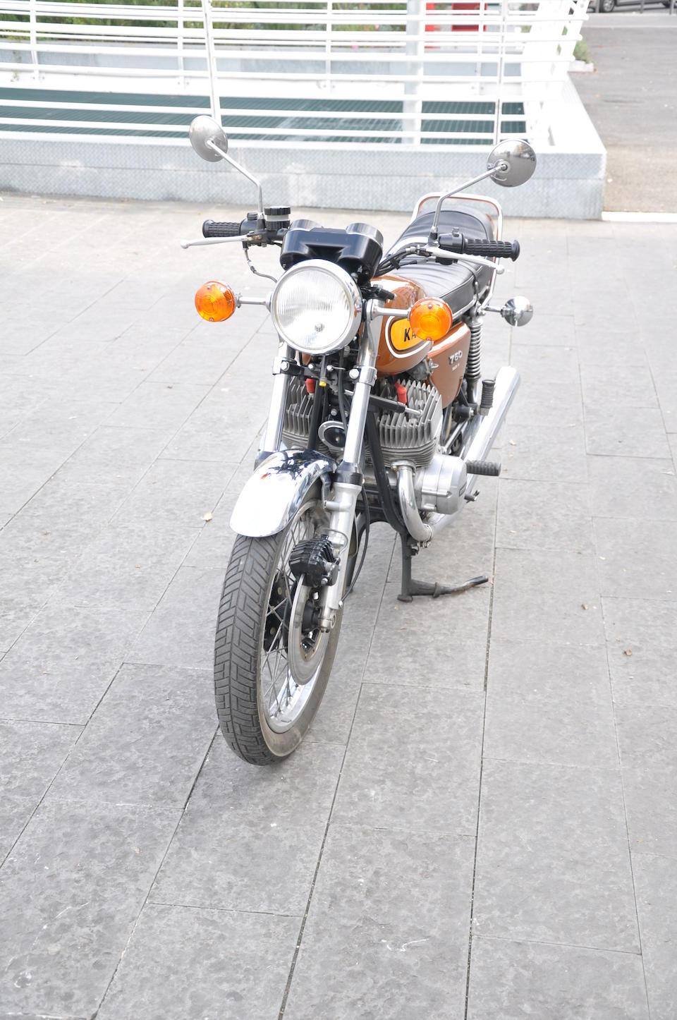 Kawasaki H2 748 cm3 1975  Frame no. H2F 33998 Engine no. H2E 34267