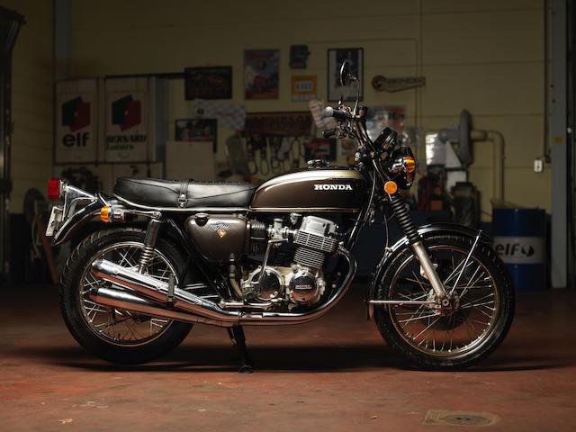 Honda CB750 1973  Frame no. CB7502046063 Engine no. à venir