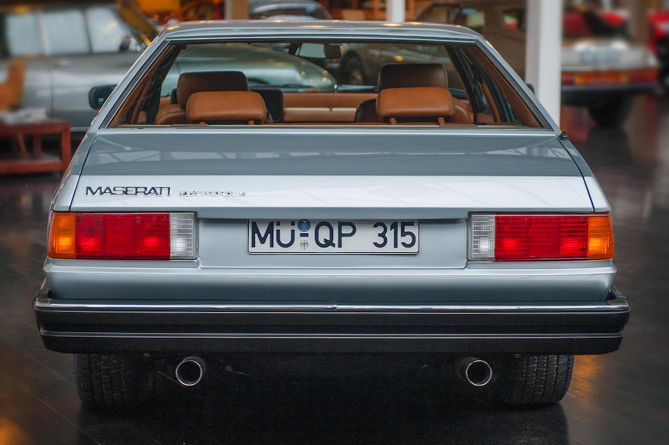 Maserati Quattroporte III 4,9 litres berline 1984