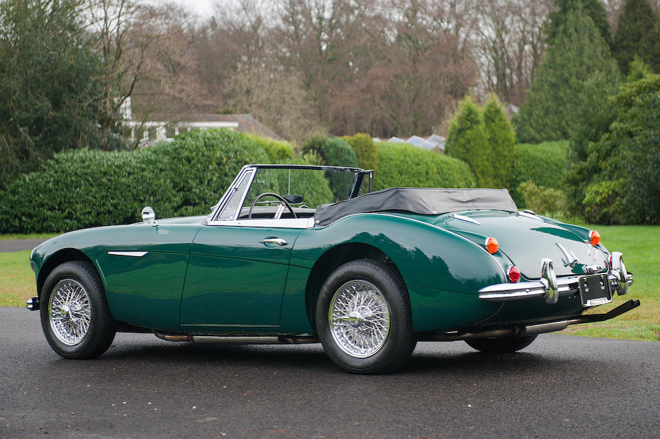 Austin-Healey 3000 Mark III phase II cabriolet 1967