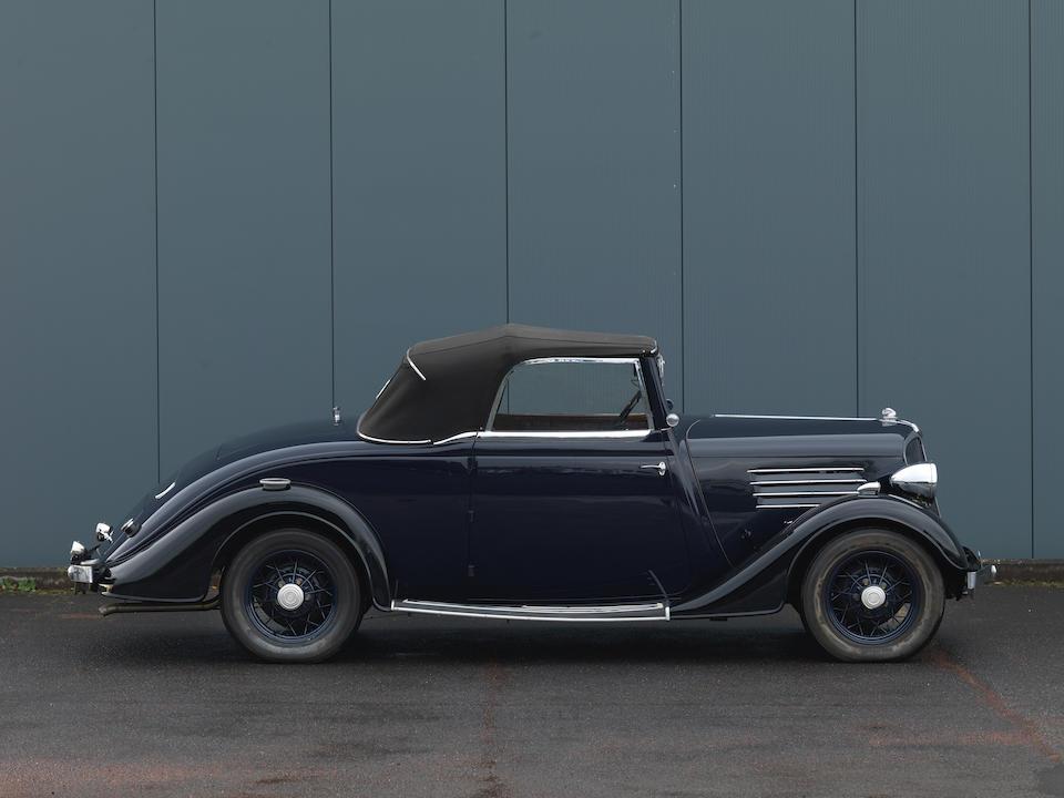 Renault  Monaquatre 1.5 litre cabriolet 1934