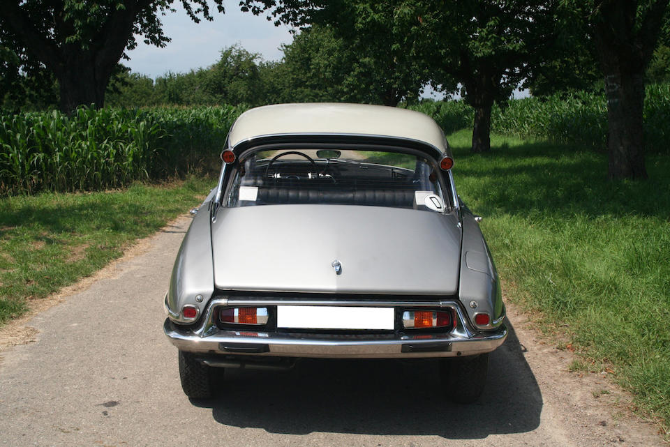Citroën DS 21 Pallas berline 1967
