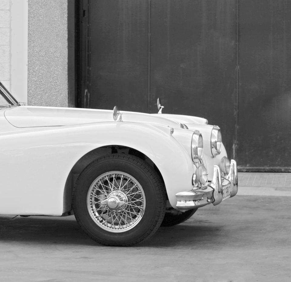 Jaguar  XK140 SE coupé 1957