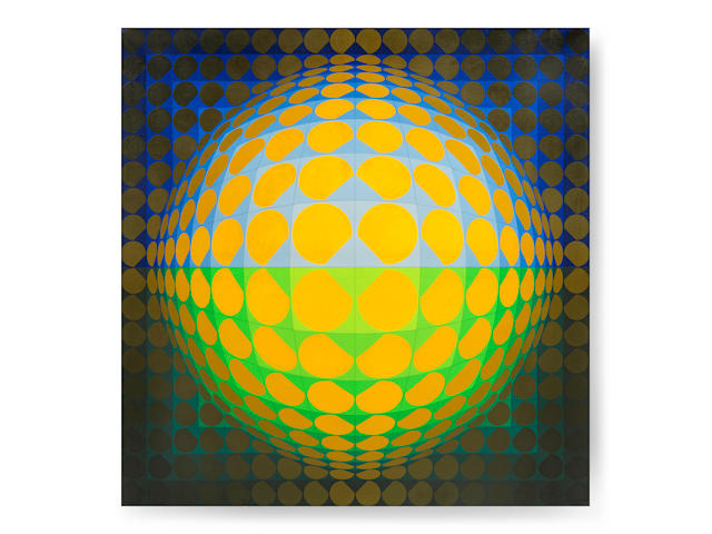 Victor Vasarely (Hungarian/French, 1906-1997) TALLER-VV 1968/1973