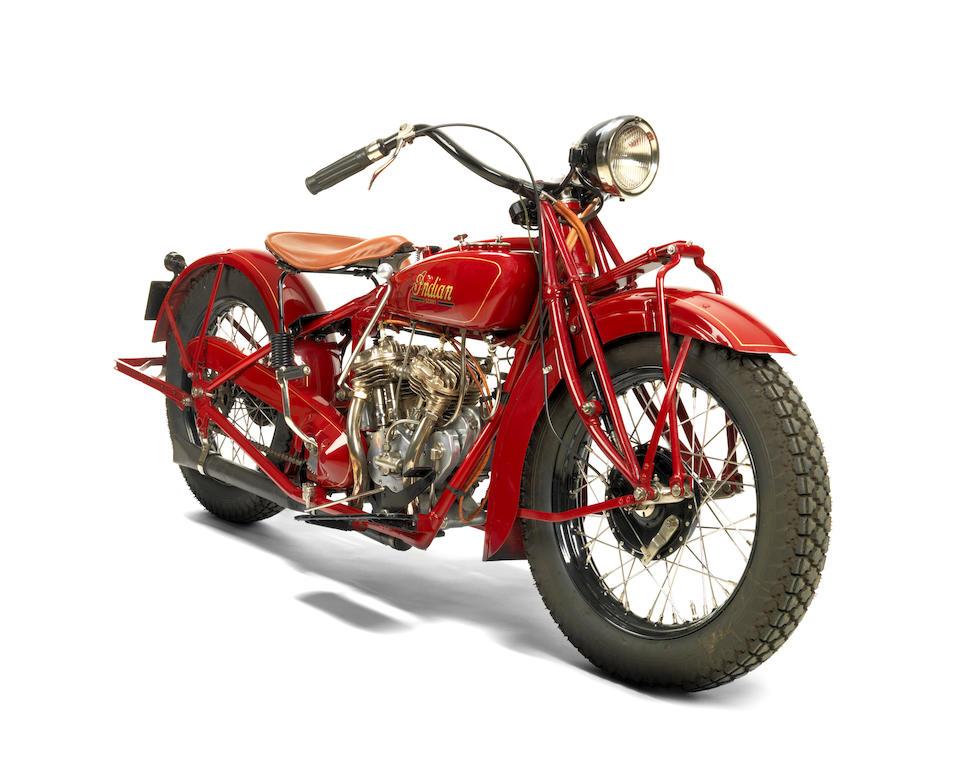 Indian 750 cm3 101 Scout 1928  Engine no. DG2502