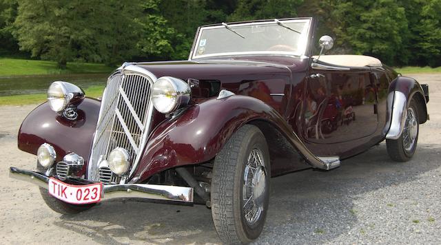 Citroën 11BL « Traction » cabriolet 1938