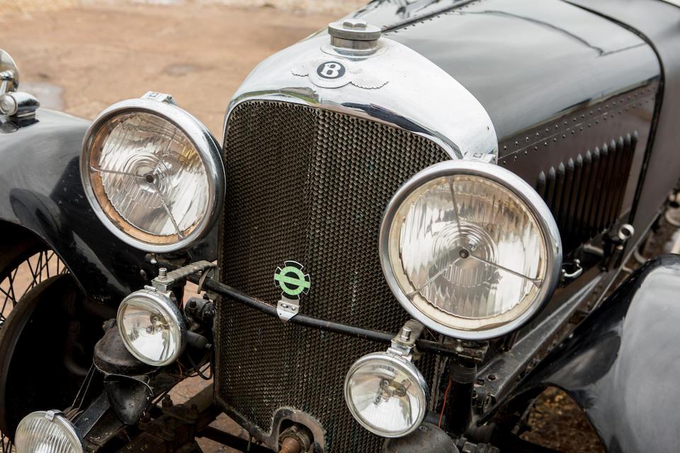 1929 Bentley 4½-Litre Tourer  Chassis no. DS3551 Engine no. DS3551