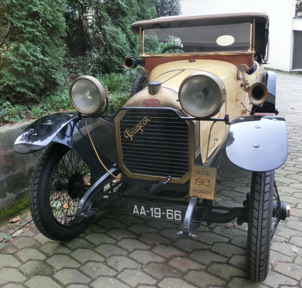 Peugeot 14 HP type 144A Coloniale tourer 1914