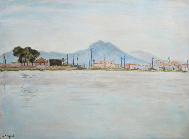 Albert Marquet (French, 1875-1947) Le lac de Tunis (Painted in 1926)