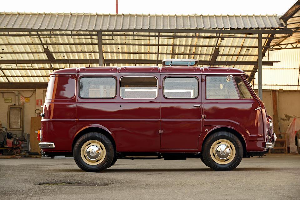 Alfa Romeo « Autotutto » Romeo 2 minibus 1961