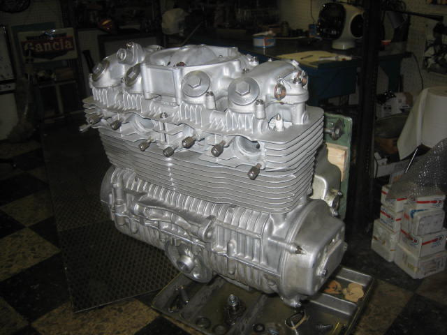 Honda CB500 R 650 cm3 « Course » 1972  Frame no. 001 Engine no. 323 74 2