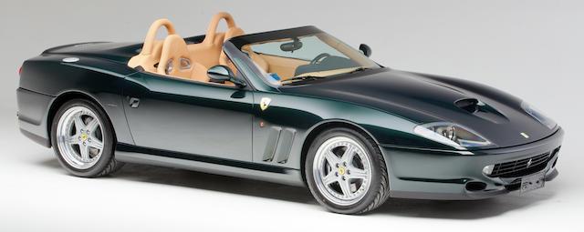 Ferrari 550 Barchetta Pininfarina 2002